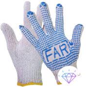 Перчатки FAR с ПВХ точкой оптом