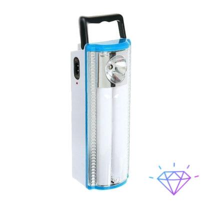 Фонарь туристический 1W+2 BW-1303 3D + аккумулятор