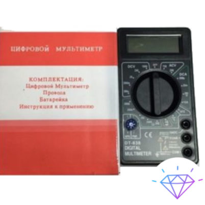 Цифровой мультиметр DT-838 1