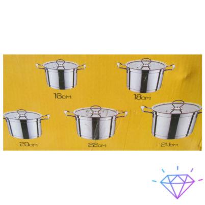 Набор кастрюль цветной 5 предметов 1 (1)