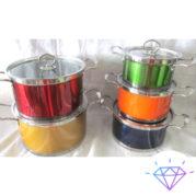 Набор кастрюль цветной 5 предметов 2 (1)