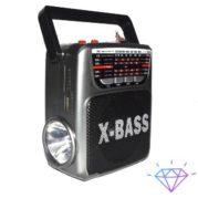 колонка фонарик с USB SD