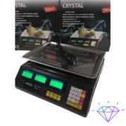 Весы торговые Crystal CT-500