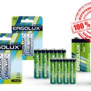 Батарейки Ergolux