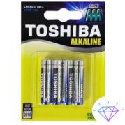Батарейки Toshiba Alkaline LR03 (1)