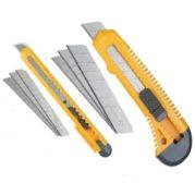 Ножи канцелярские и сменные лезвия