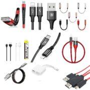 USB кабели и аудио переходники
