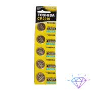 Батарейки Toshiba Alraline CR2025 листовый по 5 штук в листе оптом в Украине в Одессе на 7км