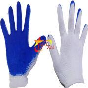 Перчатки стрейчевые синий