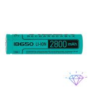 Аккумулятор Videx литий-ионный 18650(без защиты) 2800mAh bulk/1