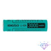 Аккумулятор Videx литий-ионный 18650(без защиты) 3000mAh bulk1
