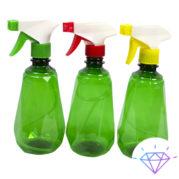 Распылитель для воды и жидкости Росинка с бутылкой (Грани, Пирамида) 0,5 л