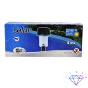 Подсветка дорожки на солнечных батареях, 37 см