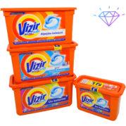 Капсулы для стирки белья Vizir прикосновение свежести, 41шт